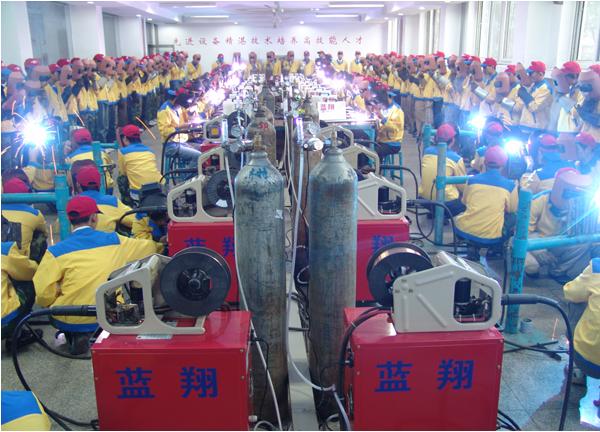 山东蓝翔焊接学院之实习设备